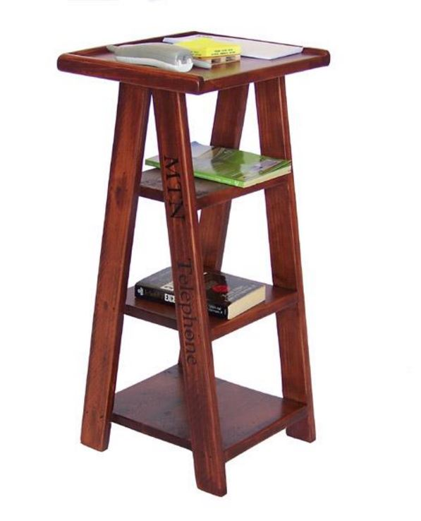 Display Furniture   Ladder Shelved Accent Table