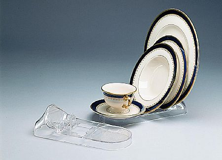 Cup And Saucer Plate Displays 4 Or 5 Piece Setting 12