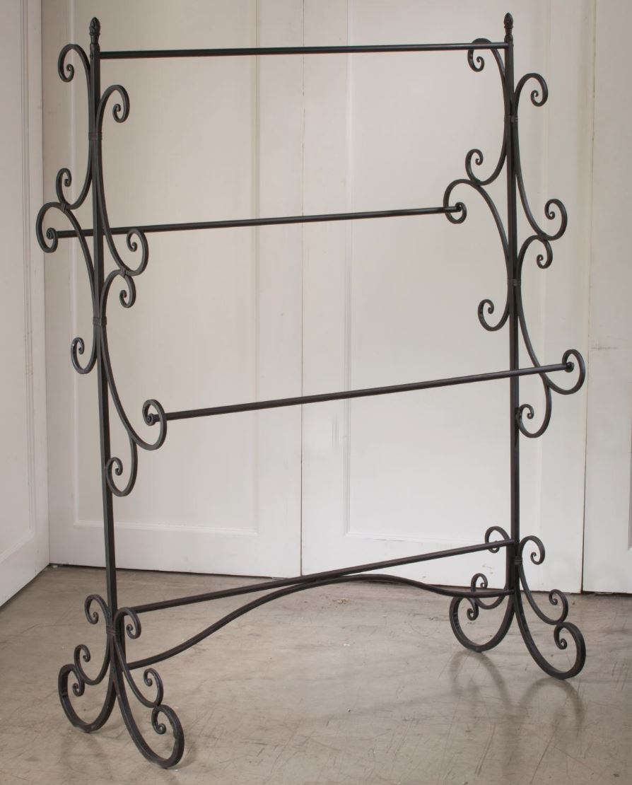 Fashion Display Rack - Mahogany Swirl