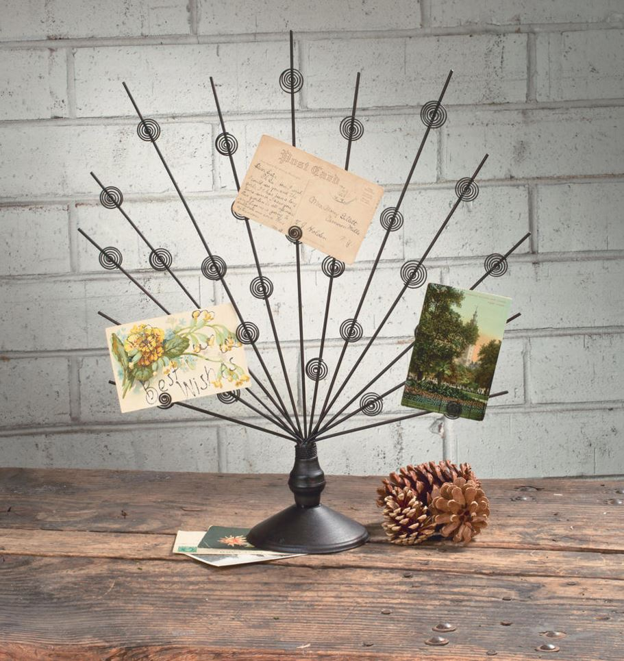 Photo Holders - Peacock Display Stands - Set of 3