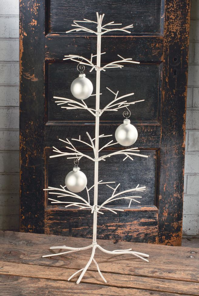 Ornament Trees, Christmas Ornament Stand and Hooks ...