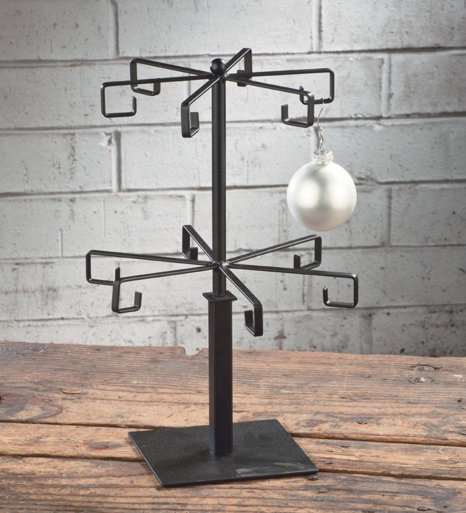 Mug Display Tree - Black Flat Wire 12 Arm