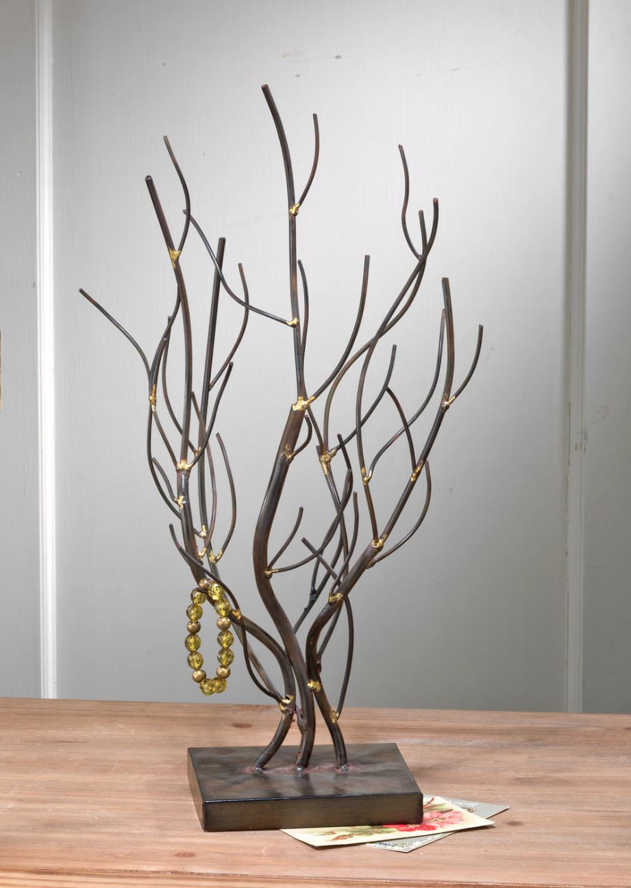 Display Tree - Natural Metal Willow