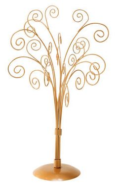 Display Tree - Gold 11 Arm - Set of 2