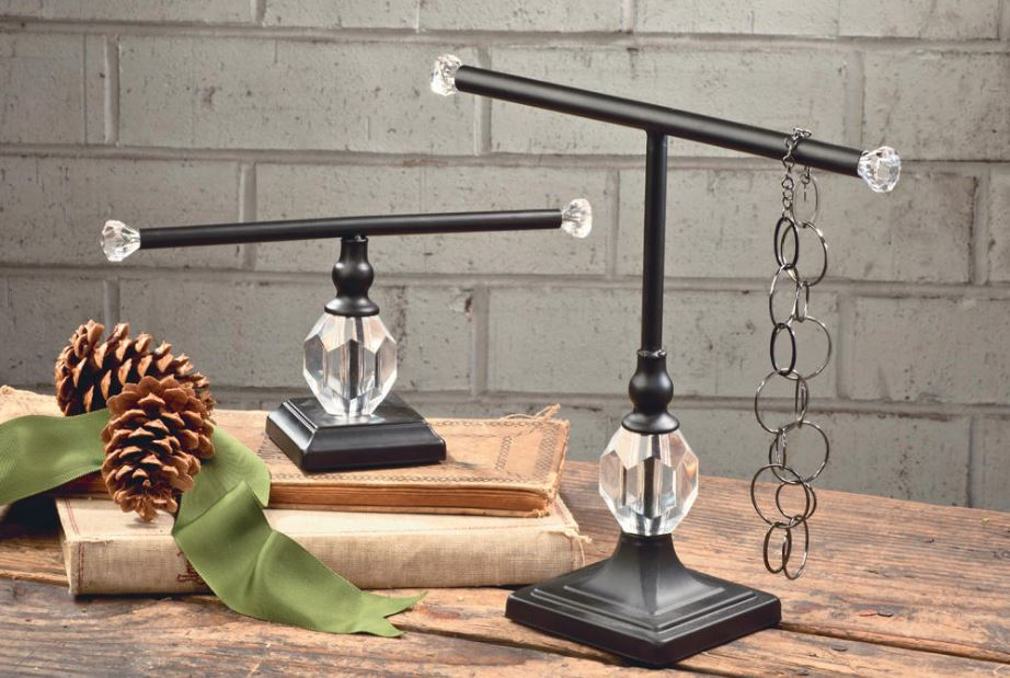 Ornament Display Stands - Glamour T-Bar Stand Set