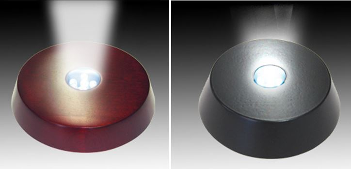Light Bases - Black or Cherry - Standard