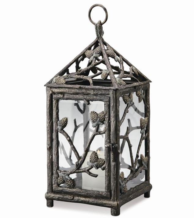 Candle Holder - Pinecone Lantern