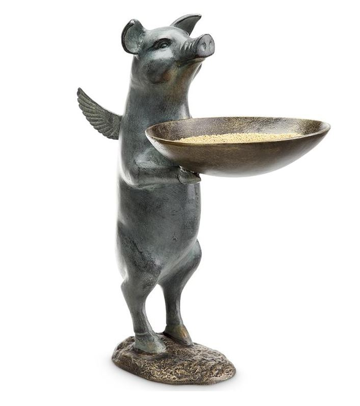 Birdfeeder - Winged Pig