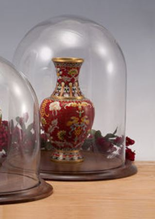 "Glass Domes -Large 11-3/4"" x 15""H"