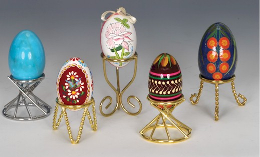 Wire Egg Stands