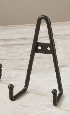 Plate Display Holders for 6  - 10  Items - Black ... : plate hanger - pezcame.com