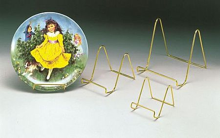 Plate Easels - Smooth Wire - Set of 12
