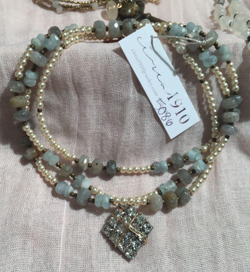 Circa 1910 Seascape Dreams Necklace