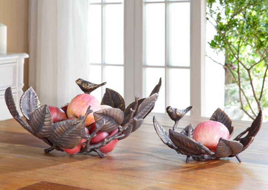Display Bowls - Leaf and Branch Ornament Display Baskets