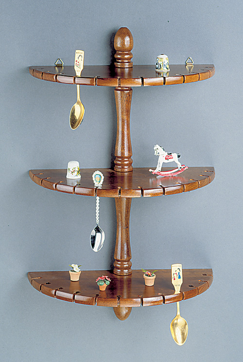 Spoon Racks - Half Round Shelves 36 Spoon