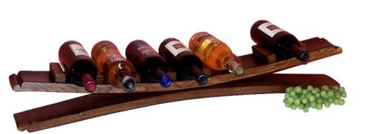 Wine Rack - Seven Bottle Display