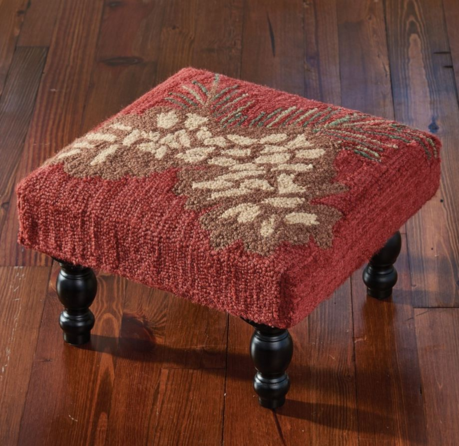 Display Furniture - Pinecone with Red Stool