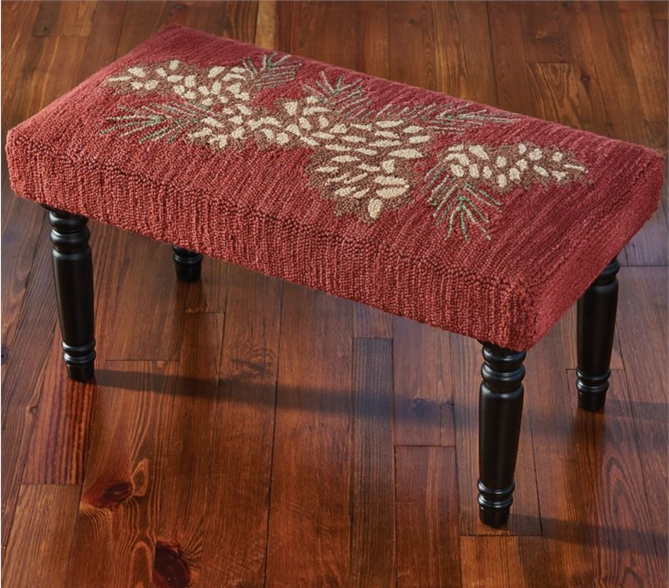 Display Furniture - Pinecone with Red Bench