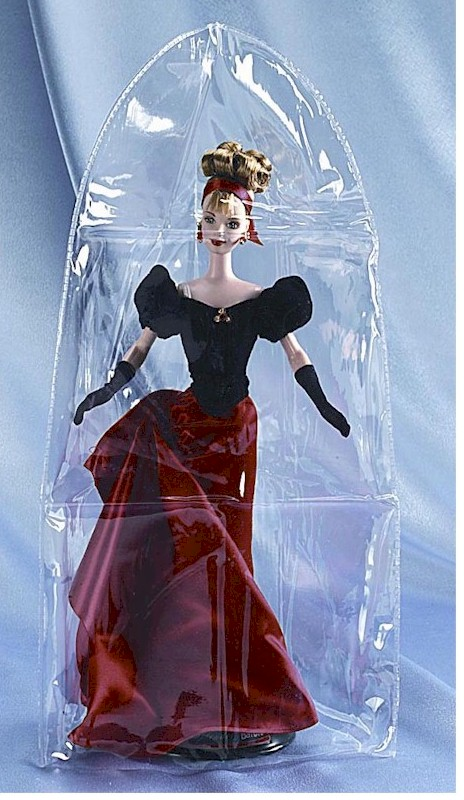 "Doll Displays - Vinyl Doll Covers 10 x 20"" - Set of 6"