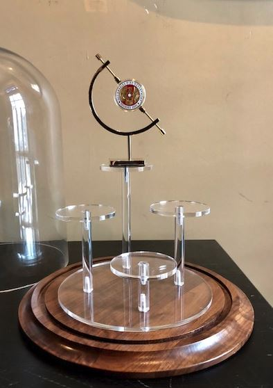 Challenge Coin Display Dome - Four Coin Display