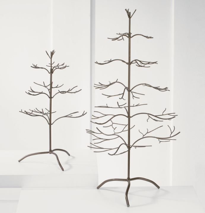Ornament Tree - Bronze Natural 25""