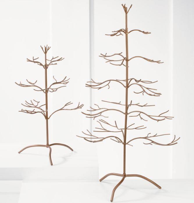Ornament Trees - Copper Natural 36""