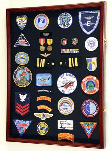 Display Case - Medals, Pins, or Patches - Extra Large