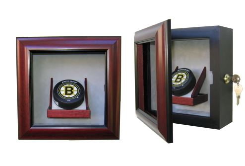 Hockey Puck Display Case - Single