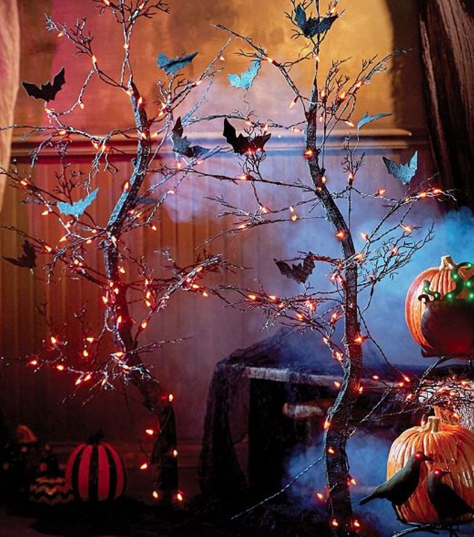Lighted Display Tree- Spooky Halloween