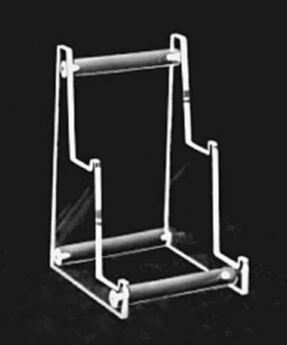 Plate Stand - Two Tiered Acrylic Heavy Duty Stand