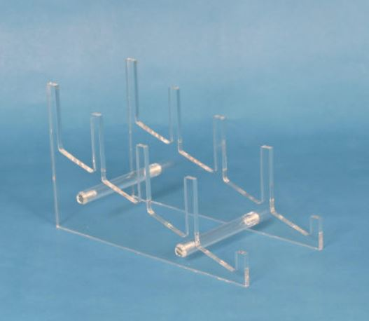 Plate Stand - Acrylic Four Tier