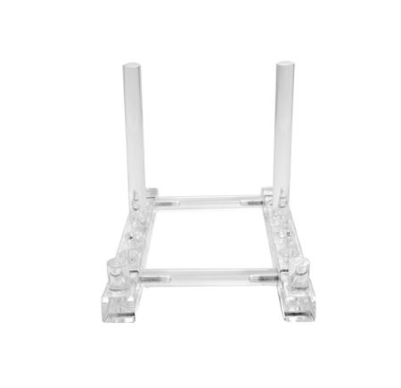 Product ID ROB-712-acrylic-plate-stand  sc 1 st  Fine Home Displays & Acrylic Plate Stand - Adjustable Depth Plate Easels and Stands