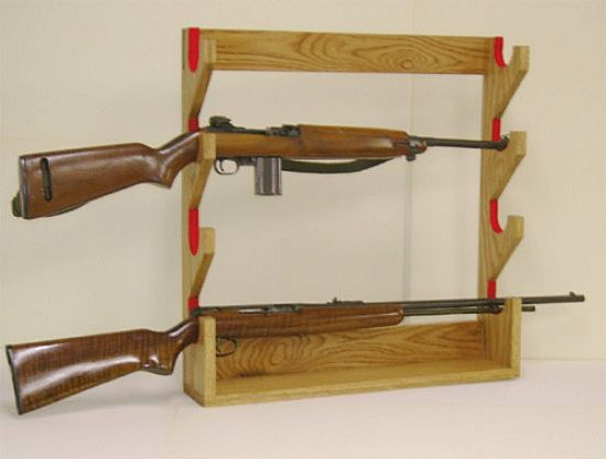 handgun display rack 2