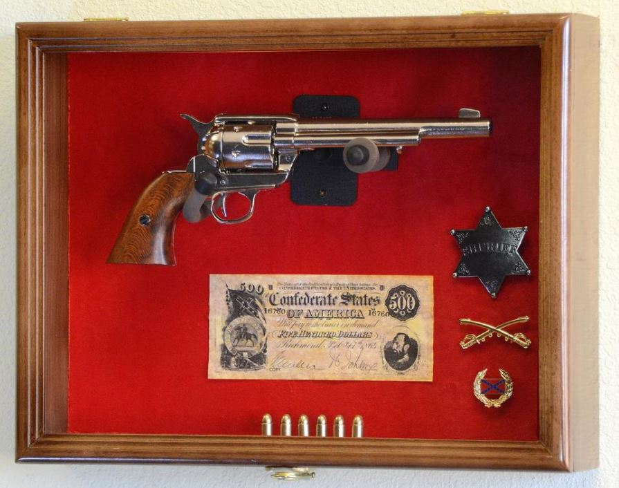 Gun Display Case - Large Pistol Display