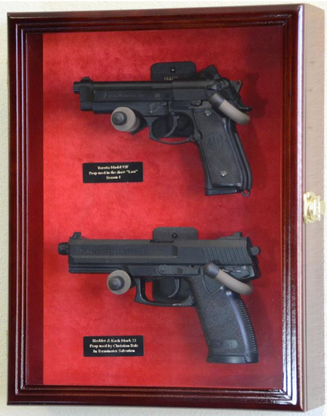 Gun Display Case - Two Gun Display