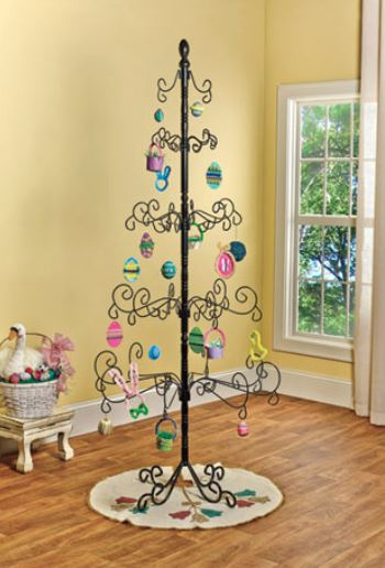 Wrought Iron Christmas Tree Stand