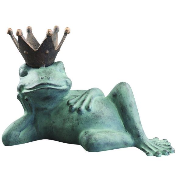 Bird Feeder - Lazy Frog Sculpture