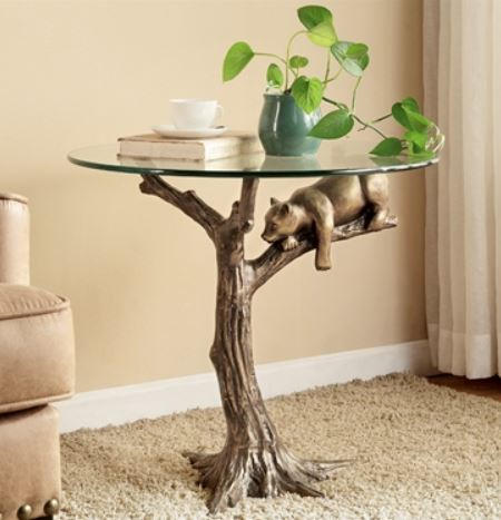 Accent End Table - Sleepy Bear