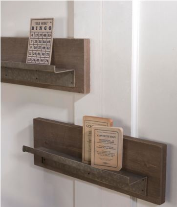 Plate Display Shelves - Set of Two Hanging Shelves