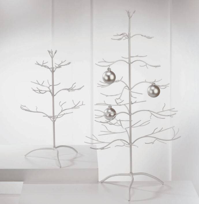Ornament Tree -  White Natural 36""