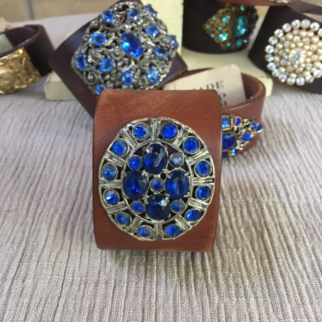 MADE IN THE DEEP SOUTH - Light Brown Cuff - Art Deco Blues