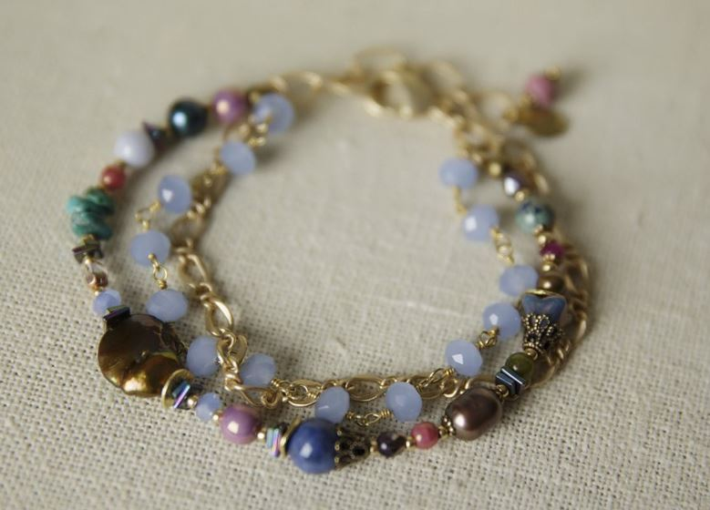 Anne Vaughan Designs - Bohemian Escape Multistrand Bracelet