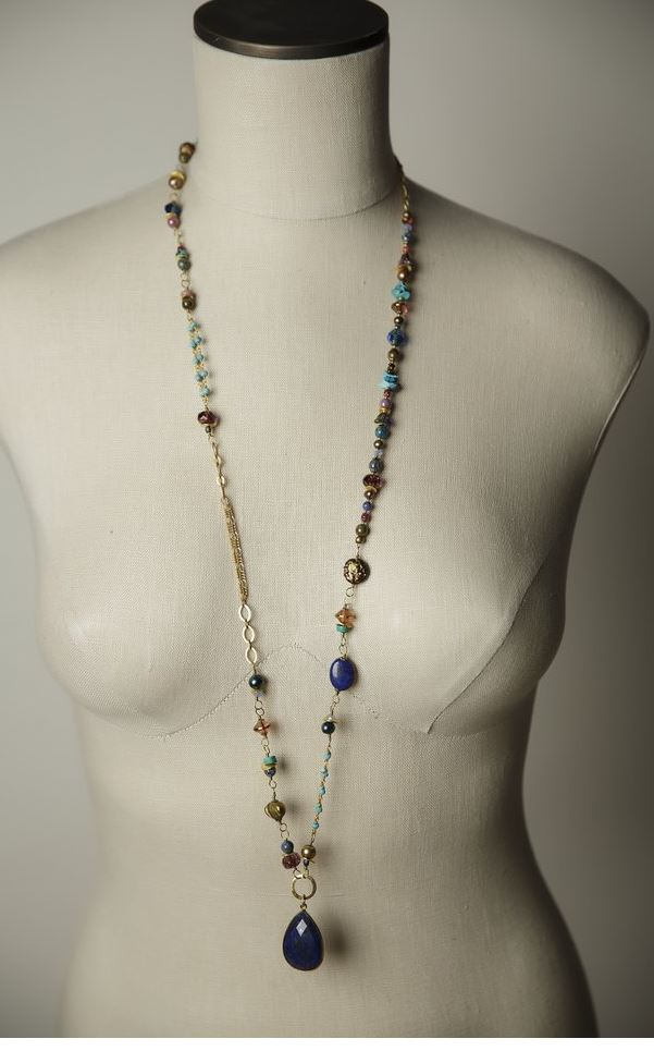 Anne Vaughan Designs - Bohemian Escape Long Necklace