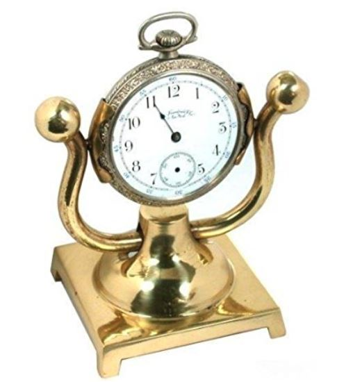Pocket Watch Holder - Solid Brass Stand