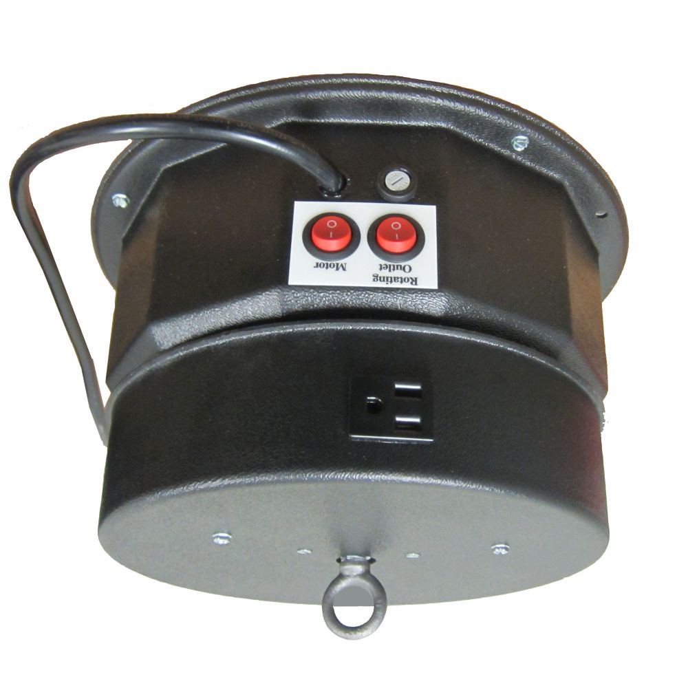 Motorized Turntable - 200 Pound Cap. - Ceiling Unit - Electric Outlet
