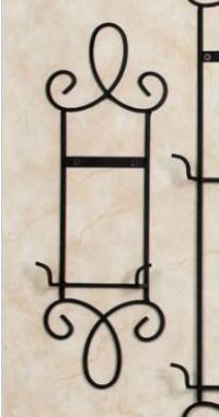 "Plate Rack - Augusta Single 6-1/2"" - 8-1/2"" Plate - Set of 2, 3 or 4"