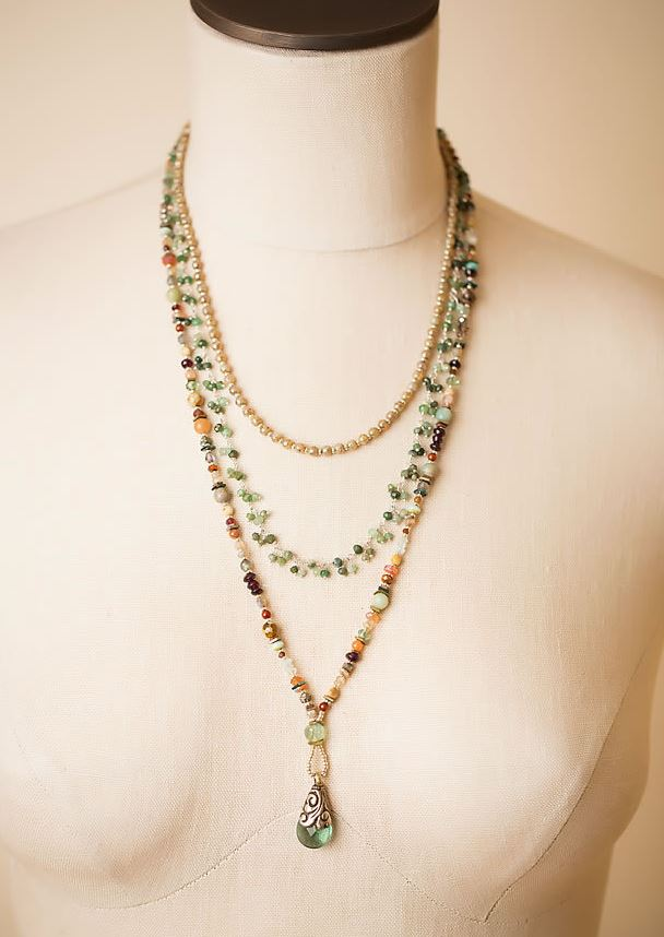 Anne Vaughan Designs - Gentle Breeze Multistrand Necklace