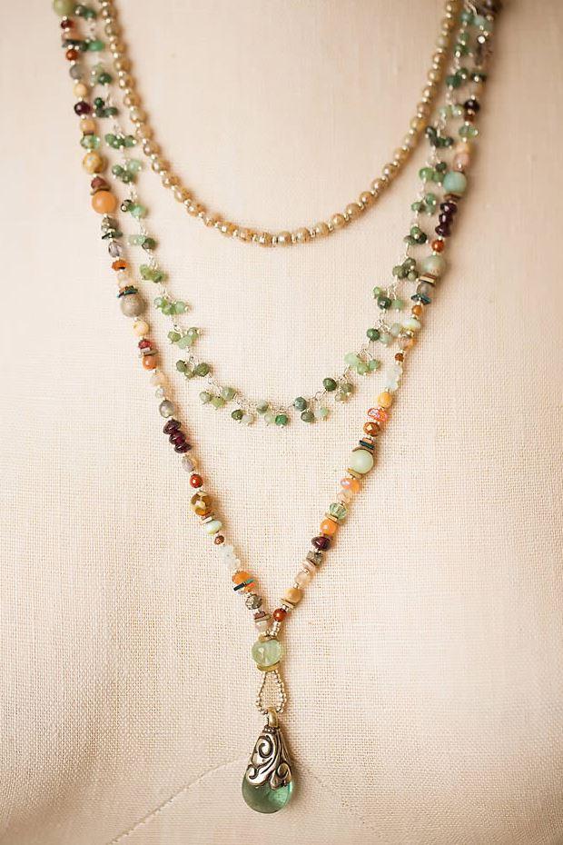 Anne Vaughan Designs Gentle Breeze Multistrand Necklace