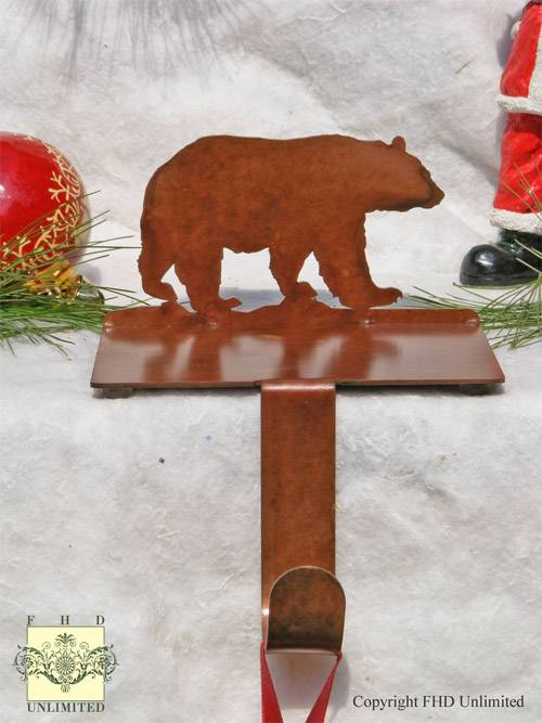 Stocking Hooks - Bear