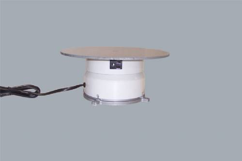 "Turntable With Outlet - 12"" Round - 100 Pounds"